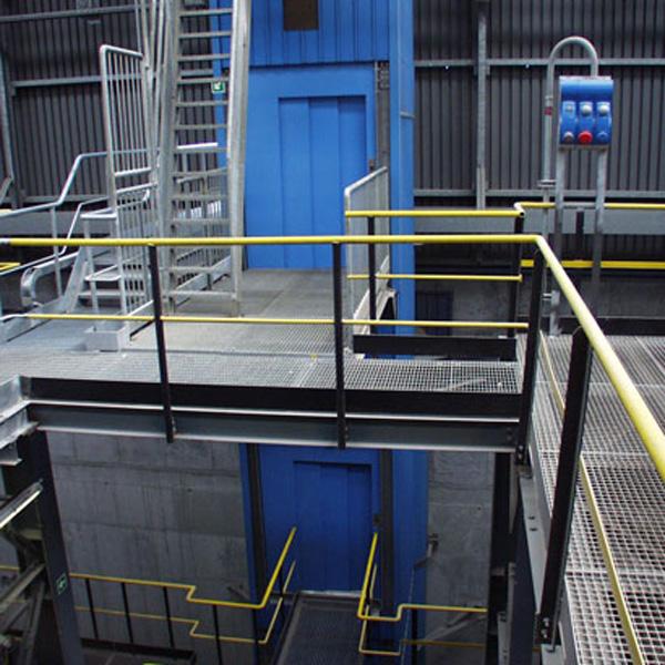 Gaines métalliques pour milieux industriels