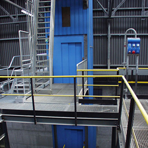 Metal shafts in industrial environments